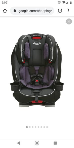 (New ) Graco SlimFit All-in-One Convertible Car Seat in Anabele for Sale in Kingsburg, CA