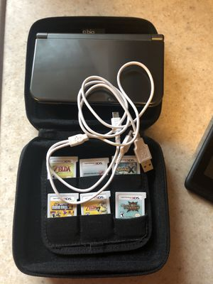 Nintendo 3DS XL/Hard case/6 Games for Sale in Salt Lake City, UT