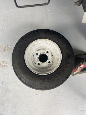 4 lug trailer wheels with tires for Sale in Orlando, FL