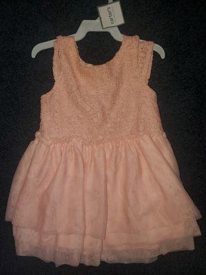 OSHKOSH KIDS Baby girl Dress Lace Pink Elegant Wedding Flower girl Easter Size 18M for Sale in Westchester, CA