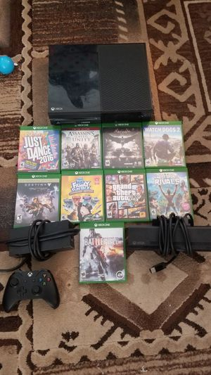 Xbox One with games and accessories for Sale in Winter Haven, FL