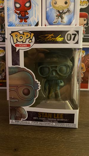 Pop icons stanlee funko pop for Sale in Chula Vista, CA
