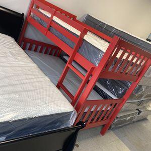 Cool Red Kids BUNKBED for Sale in Marietta, GA