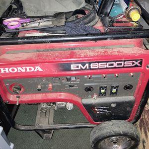 Honda Em 6500 Sx for Sale in San Luis Obispo, CA