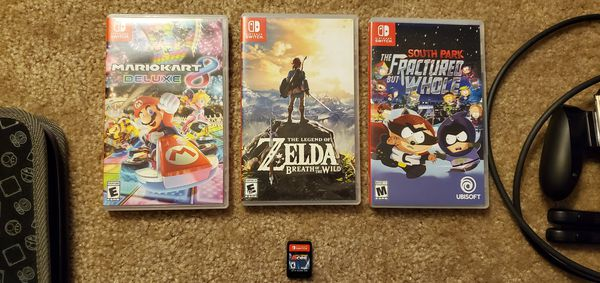 Nintendo Switch bundle with extras