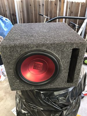 10 inch subwoofer for Sale in Riverside, CA