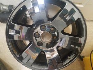 "20"" gmc rim Black Chrome for Sale in Humble, TX"