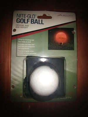 Nite-Glo Golf Ball for Sale in Wake Forest, NC