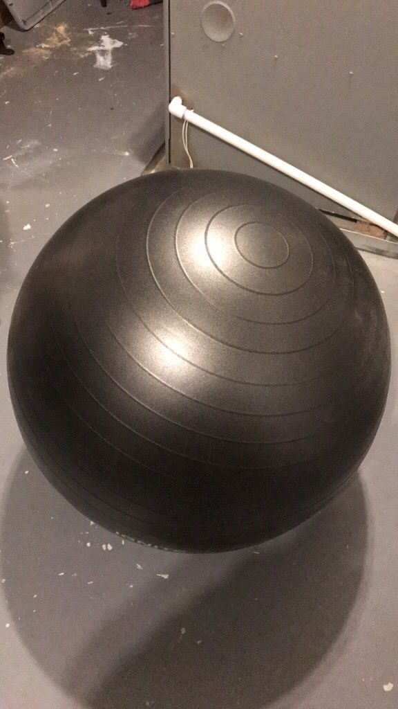 Weighted Yoga Ball