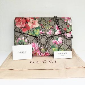 💯 Authentic Gucci GG Blooms Dionysus Wallet On Chain With Flower🌷 ⠀ for Sale in Los Angeles, CA