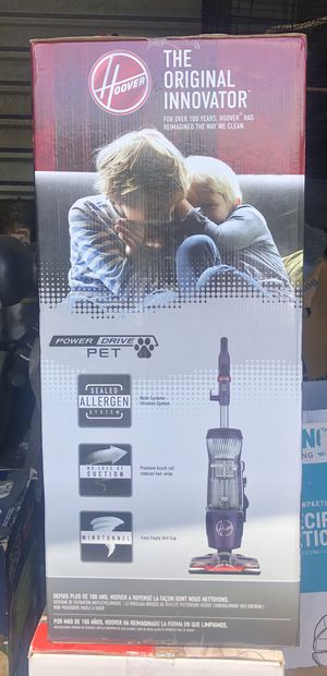 NEW Hoover Power Drive Pet Bagless for Sale in Virginia Beach, VA