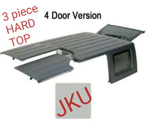 Original Jeep HARD TOP 3 piece, Freedom Top. Fits JKU '07-'18* for Sale in Miami, FL
