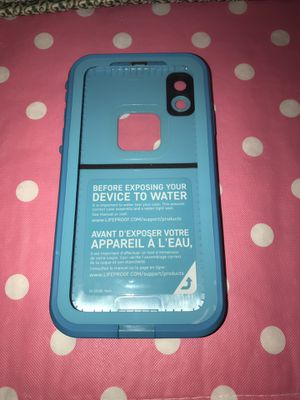 Lifeproof fre IPhone XR case for Sale in Parkersburg, WV
