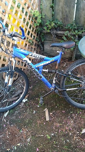 Mountain bike and trailer$40 for Sale in Hillsboro, OR