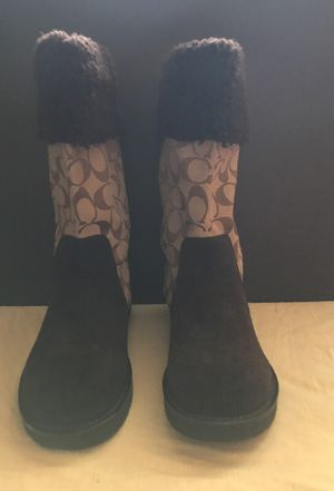 Coach Boots in excellent condition size 8 for Sale in Frederick, MD