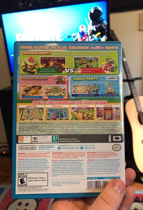 Mario Party 10 for WiiU