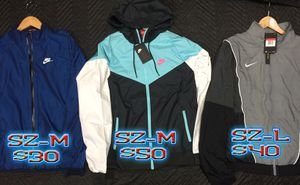 Nike nylon jackets for Sale in San Jose, CA