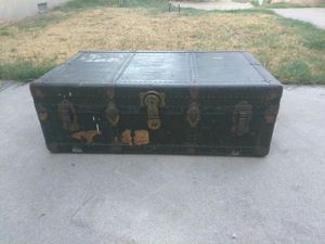 Antique Old 1940's Military Footlocker / Nice For Those Collectors / Best Fair Offer Today for Sale in Fullerton, CA
