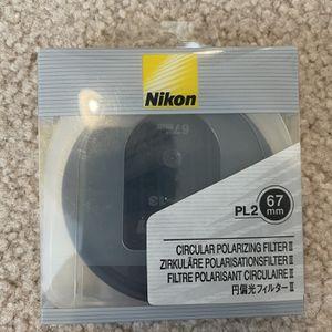 Nikon 67mm CPL II Circular polarizing Lens Filter for Sale in Sunnyvale, CA