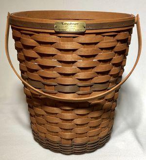 Longaberger 1989 Banker's Waste Basket for Sale in Lake Stevens, WA