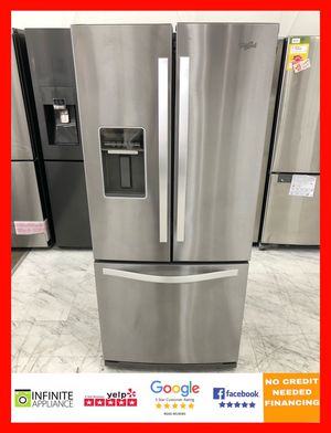 "Whirlpool 30"" French Door Refrigerator for Sale in San Jose, CA"
