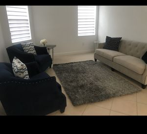 Selling Sofa, two accent chair and tables for Sale in Hialeah, FL