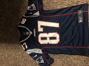 New England Patriots Rob Grownkowski Jersey Mens Size Small for Sale in Canal Winchester, OH
