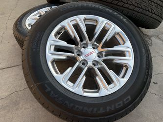 "20"" GMC Sierra Wheels Sensor Yukon Denali Rims Tires Cadillac Escalade for Sale in Rio Linda,  CA"