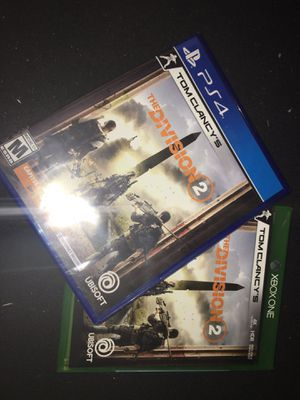 Tom Clancy's Division 2 for Sale in Hialeah, FL