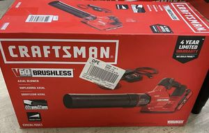 Craftsman V60 Brushless Leaf Blower for Sale in O'Fallon, IL