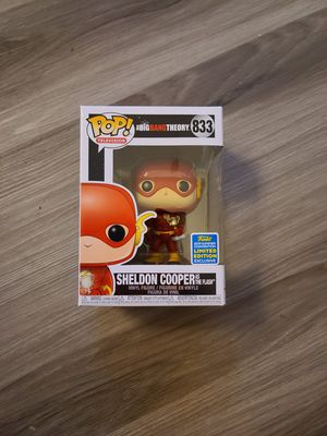 Funko Pop - Sheldon Cooper as The Flash $30 (Big Bang Theory) for Sale in La Puente, CA