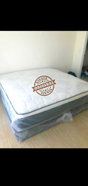 MATTRESS BED FOR SALE KING EURO TOP SOFT 👑👑👑👑 for Sale in Hollywood, FL