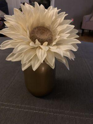 Gold jar sunflower for Sale in Tucson, AZ