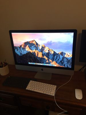 "APPLE IMAC 5k 27"" A1419 Late-2015 BTO 4Ghz i7 32GB DDR3, 512 SSD for Sale in Manassas, VA"