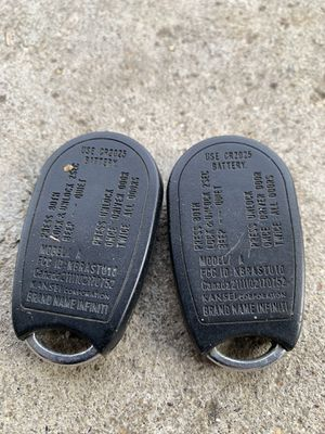 Infinity radio remote for Sale in Winnetka, IL