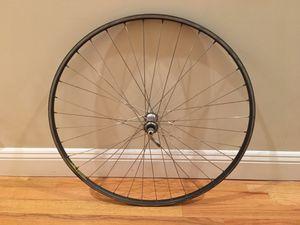 Road bike front wheel rim: 700c, 622mm w/ Shimano hub + FREE bungee; tube for Sale in San Francisco, CA