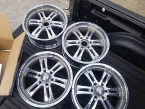 20inch chrome rims on sale for Sale in Houston, TX