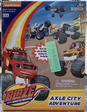 Blaze and monster machines game for Sale in Norwalk, CA