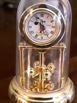 Disney Miniature Dome Clock - Like New Condition for Sale in West Covina,  CA