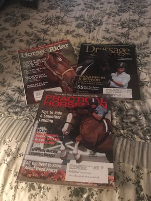Lot of 3 Horse Magazines for Sale in Davenport, FL
