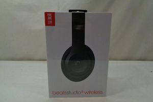 Beats Studio 3 Wireless Headphones Black for Sale in Clovis, CA