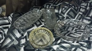 CRYSTAL all kinds Antique, Cut and Uncut glass for Sale in Sanford, NC