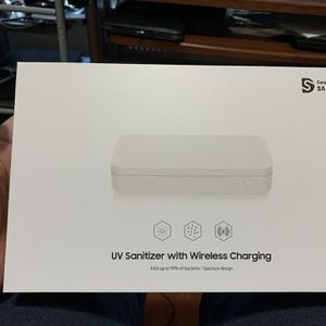 Samsung UV Sanitizer with Wireless Charging - New for Sale in Tucker, GA