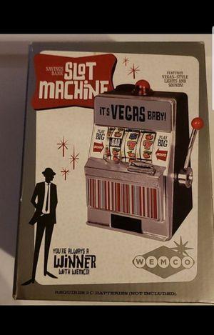 Slot machine piggy bank for Sale in Federal Way, WA
