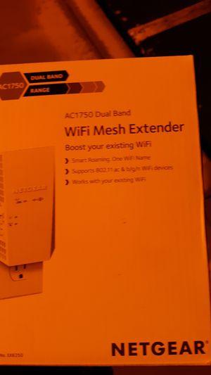 Netgear AC1750 Dual Band Wifi mesh extender for Sale in Temecula, CA