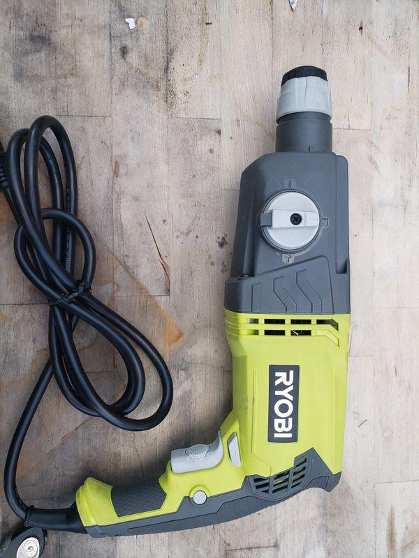 Ryobi rotary hammer drill good condition.