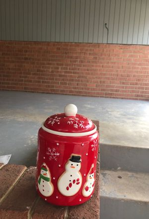 Xmas Cookie Jar for Sale in Wheaton, MD