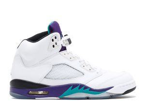 Air Jordan retro 5 grape for Sale in Dallas, TX