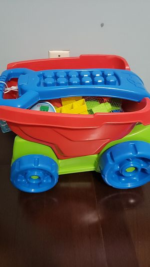 Kid connection blocks with wagon for Sale in Murfreesboro, TN