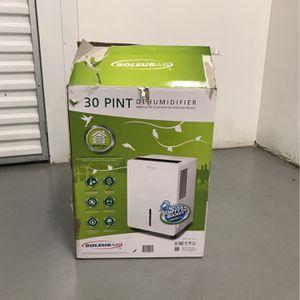 SOLEUS AIR Dehumidifier for Sale in Chicago, IL